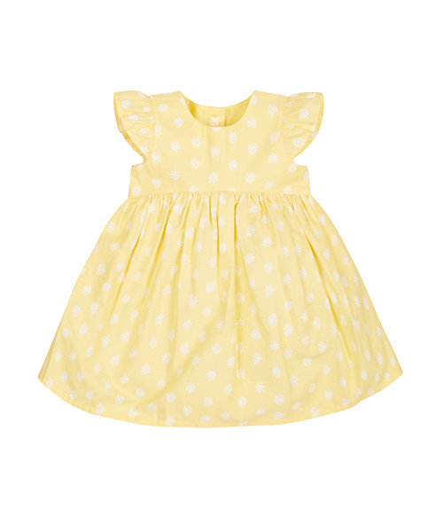 Yellow Daisy Summer Dress